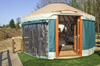 Lakeside Yurt Unusual Self Catering with Hot Tub