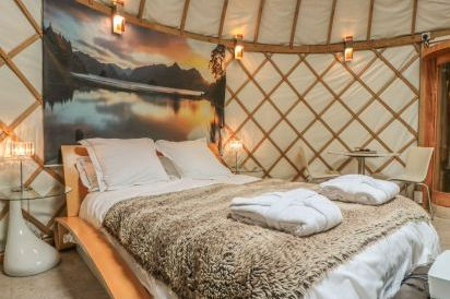Island Holiday Yurt