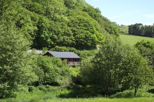 Cefn-nant Luxury Lodge in Mid Wales 18