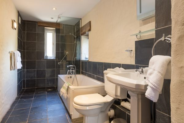 Disabled access wetroom in Pembrokeshire