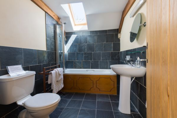 Luxurious family bathroom in haverfordwest
