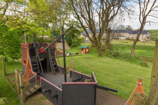 Extensive play area on site in Haverfordwest