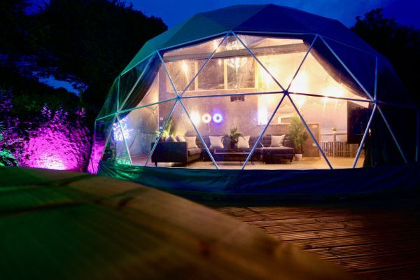 Sunridge Geodome - Glamping in style 15