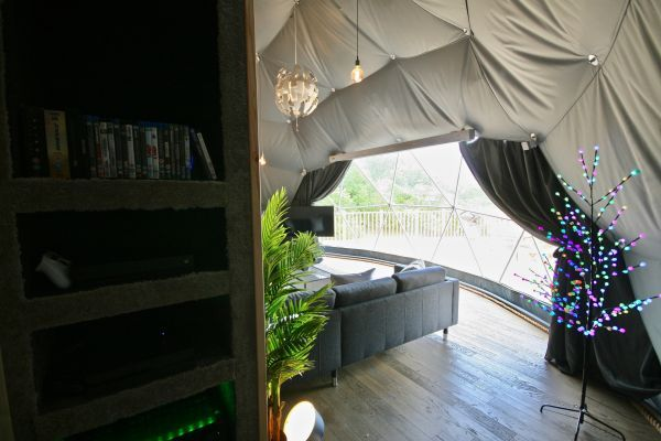 Sunridge Geodome - Glamping in style 9