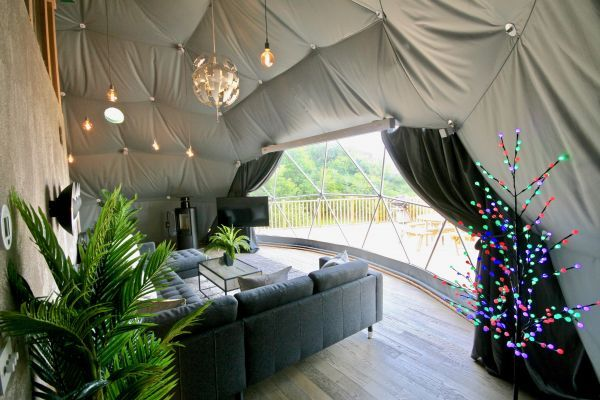 Sunridge Geodome - Glamping in style 20