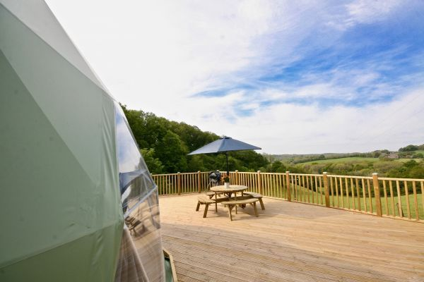 Sunridge Geodome - Glamping in style 22