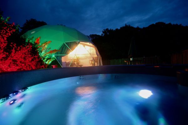 Sunridge Geodome - Glamping in style 26