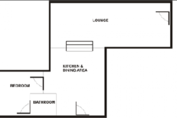 holiday cottage perthshire floor plan