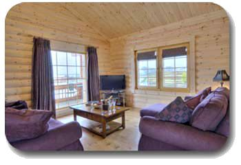 log cabin Scotland selfcatering