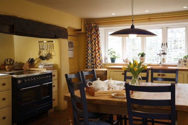 The large well equipped Farmhouse Kitchen