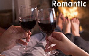 Romantic luxury self-catering accommodation