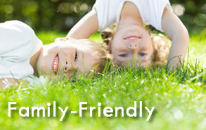 Family and child-friendly luxury self-catering accommodation